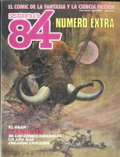 Comics El Coleccionistas - ZONA 84 ALMANAQUE 1987