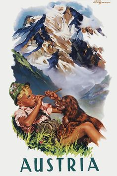Austria Travel Posters and Prints