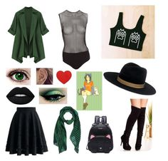 """""""Nepeta"""" by mikailaclonts on Polyvore featuring Chicwish, Fleur du Mal, Janessa Leone, Paul Smith and Lime Crime"""