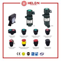 HL0101-Series Explosion-proof Control Buttons - helon