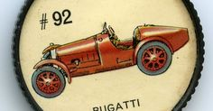 Jello-O Coin 92 - Bugatti (1926) - Built in France by the famous Ettore Bugatti the Type 35 scored 1045 wins during 1924 and 1926. It was one of the most versatile racing models of the period excelling in hill climbs road races sprints and track events. The engine was of straight-eight design and produced 90 brake horsepower. The chassis engine and framecost $5100. for http://ift.tt/2gUqHTb