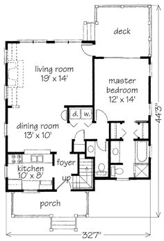 Forsythia Plan SL-715 Southern Living House Plan