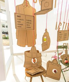 Back to School Display Inspiration: Cardboard Creations