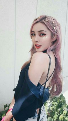 Beauty Make-up, Asian Beauty, Hair Beauty, Korean Makeup Look, Asian Makeup, Pony Makeup, Hair Makeup, Coachella Make-up, Korean Hair Color