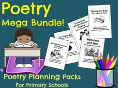 Poetry Planning Mega Bundle!