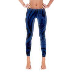 6ab349a8f321d2 HB Doodle. Womens Workout OutfitsWomen's FitnessFitness ApparelBlack  LeggingsPrint ...