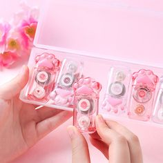 Cat Claw Correction Tape from Apollo Box Mini Things, Cool Things To Buy, Girly Things, Kawaii Bedroom, Correction Tape, Cute Furniture, Cute Stationery, Stationary, Cute Water Bottles