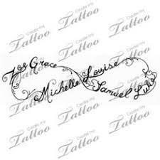 Bildresultat för children's names tattoos for women