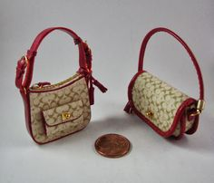 Miniaturas bolsos: Bolsos homenaje combinados