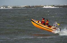reddingsboot tijdens storm, door: Saskia avn nispen
