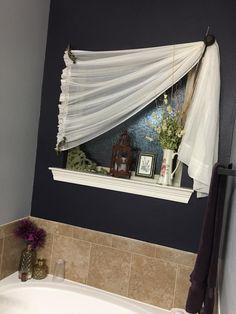 53 best bathroom window treatments images curtains washroom bathroom rh pinterest com