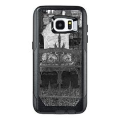 Jacksonville Graveyard OtterBox Samsung Galaxy S7 Edge Case - black and white gifts unique special b&w style