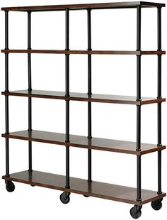 """<p> Double bookshelf, $250, available on the East Coast from <a href=""""http://www.bizbash.com/rentquest/new-york/listing/777449"""">RentQuest</a></p>"""
