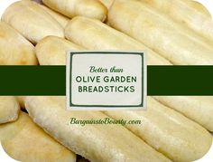 These are fantastic and very easy!!!! Remember to sift your flour and you will have perfect and very delicious breadsticks!!!!!! BW Better than Olive Garden Breadsticks Recipe - Bargains to Bounty