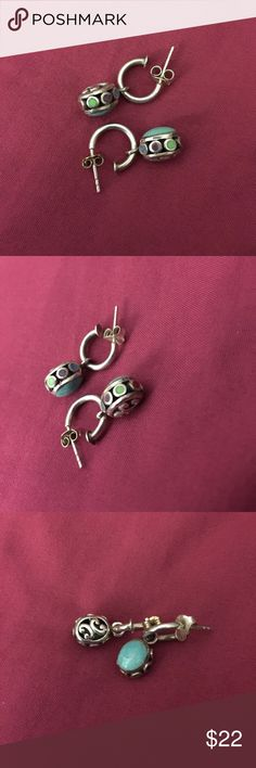 Earrings Sterling silver solid 925 authentic stone Earrings Sterling silver solid 925 authentic stone Jewelry Earrings