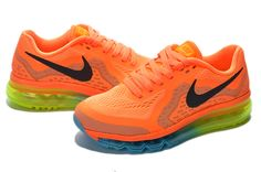 6940529ee9f Nike Air Max 2014 For Women Orange Shoes
