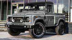 Land Rover Defender 90 Pickup- Khan made.