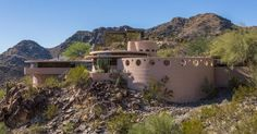 The architect's Guggenheim-esque desert home is on sale for $3.6m