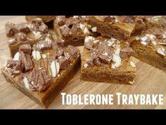 Toblerone Traybake - She Who Bakes Amish Cookies, Toblerone, Bread Baking, Tray Bakes, Food For Thought, Baking Recipes, Sheet Cakes, Favorite Recipes, Snacks