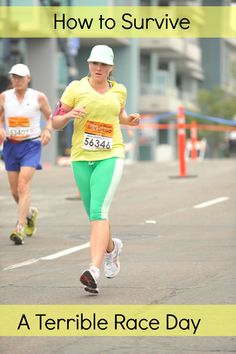 How to make it to the finish line when you're having a terrible race day.