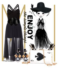 """""""Enjoy the simple things"""" by marastyle ❤ liked on Polyvore featuring Fleur du Mal, Alaïa and Olgana"""