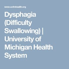59 best health swallowing images on pinterest container shop university of michigan digestive and liver health offers top experts in treatment of dysphagia disease that causes problems in swallowing food or liquids fandeluxe Choice Image