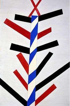 Abstrato (1957), de Alfredo Volpi