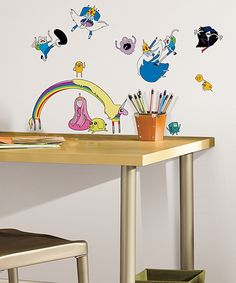 Adventure Time Wall Decal Set | zulily