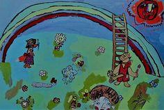 no title, unknown artist, Tsjernobyl, tbv vakantie kinderen omgeving Tsjernobyl [1986]