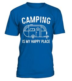 "# Camping Is My Happy Place T-Shirt Happy Camper Gift Shirt .  Special Offer, not available in shops      Comes in a variety of styles and colours      Buy yours now before it is too late!      Secured payment via Visa / Mastercard / Amex / PayPal      How to place an order            Choose the model from the drop-down menu      Click on ""Buy it now""      Choose the size and the quantity      Add your delivery address and bank details      And that's it!      Tags: Perfect Gift Idea for…"