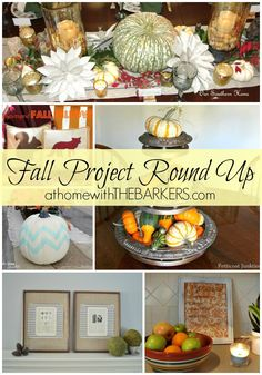 Still time to do these projects before #thanksgiving