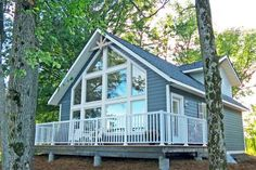 Linwood Homes Sebright cabin plan 1182 sq ft
