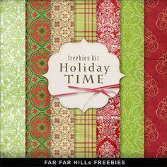 Far Far Hill: New Freebies Kit