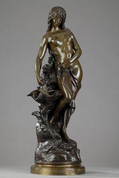 Guilde Buste 20105 personnage Sculpture en Bronze Optique Couple Amoureux