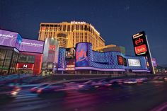 www.vegas-venues.com - Planet Hollywood Las Vegas Front Exterior