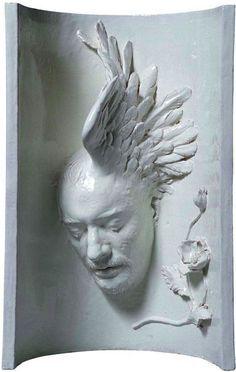 Livio Scarpella   Autoritratto - Hypnos, on Galleria dell'Incisione.