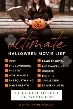 Ultimate Halloween Movie List