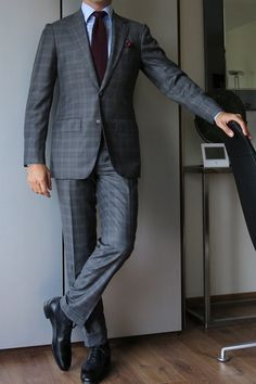 Via paul-lux: Oger DFS suit Finamore shirt Boivin knit tie Charvet PS Cleverley MTO shoes