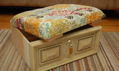 DIY Drawer Ottoman | The Owner-Builder Network
