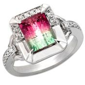 Frederic Sage Watermelon Tourmaline Ring - why do I love all the expensive stuff?