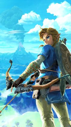 Zelda Breath Of The Wild Phone Wallpapers Pinterest Breath Of
