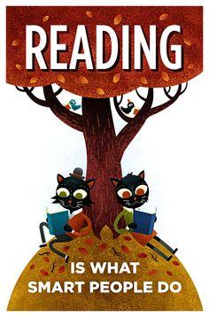 Reading, by Scott Benson
