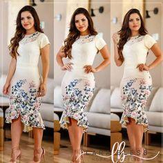 REPOSIÇÃO desse vestido lindo já chegou. Compre pelo site www.larabless.com.br Whats 51 99552.Enviamos para todo o Brasil #modaexecutiva #modaevangelica #larabless #vestidomidi