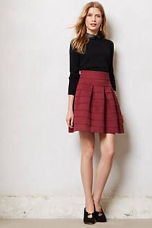 Lusting after this Anthropologie skirt
