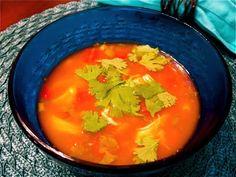 {Recipe} Southwest Chicken Crock-pot Soup - on tonight's menu fo sho