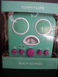 Sunnylife Beach Sounds Portable MP3 Speaker Am/Fm Tuner Amplifier 3 Speaker NEW | Consumer Electronics, Portable Audio & Headphones, iPod, Audio Player Accessories | eBay!