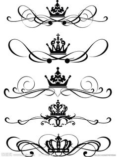 I would like to have just a crown tattoo. One of these. More