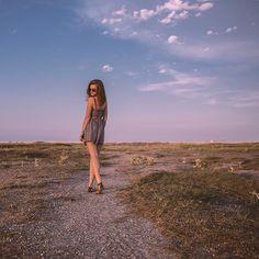 #photography #girl #dress #seaside