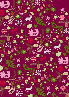 christmas print 2 by Polkip, via Flickr