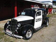 Classic Ford Police.